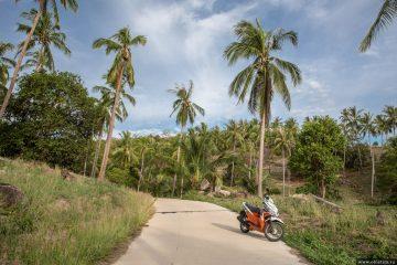 История аренды скутера на острове Тао