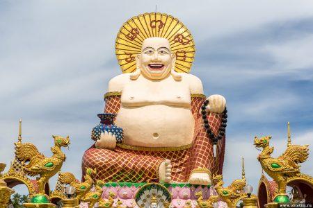 Храм Плай Лем (Wat Plai Leam) на острове Самуи