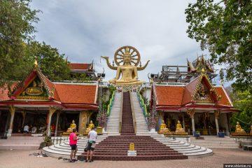 Статуя Большого Будды на острове Самуи