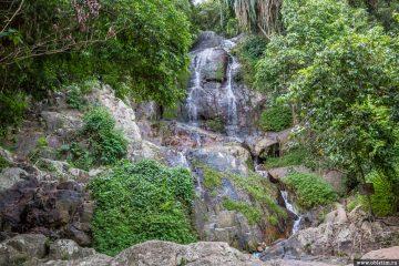Водопады Намуанг на острове Самуи