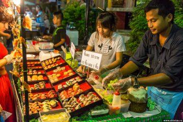 Ночные рынки на острове Самуи