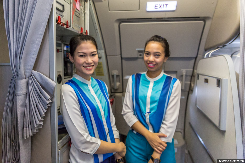 Стюардессы Stewardess Bangkok Airways